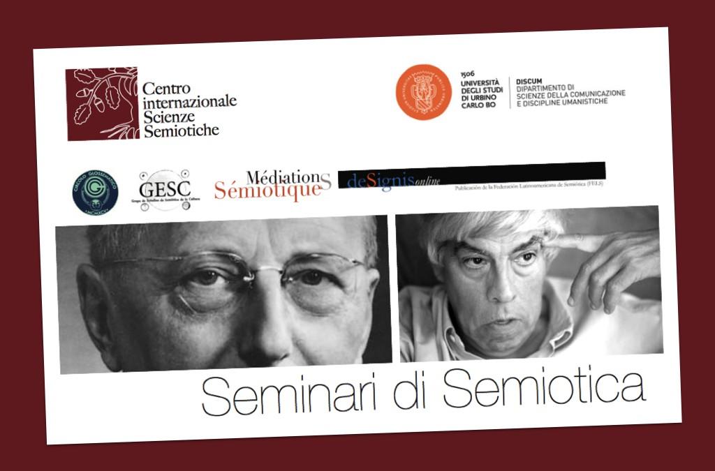 Continuità, scientificità e internazionalità: i Seminari di Semiotica del CiSS