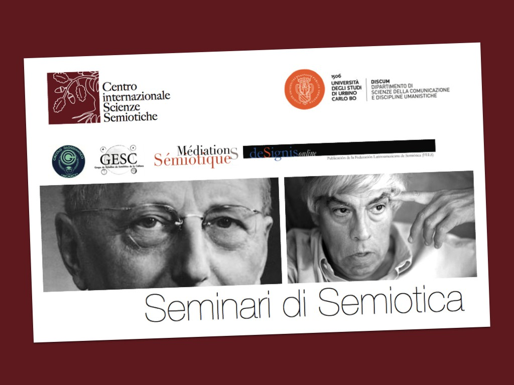 Seminari di Semiotica 2015