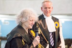Il premio Nobel per la Chimica Ada Yonath