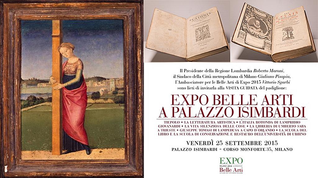 La Scuola di Conservazione e Restauro a Expo Belle Arti