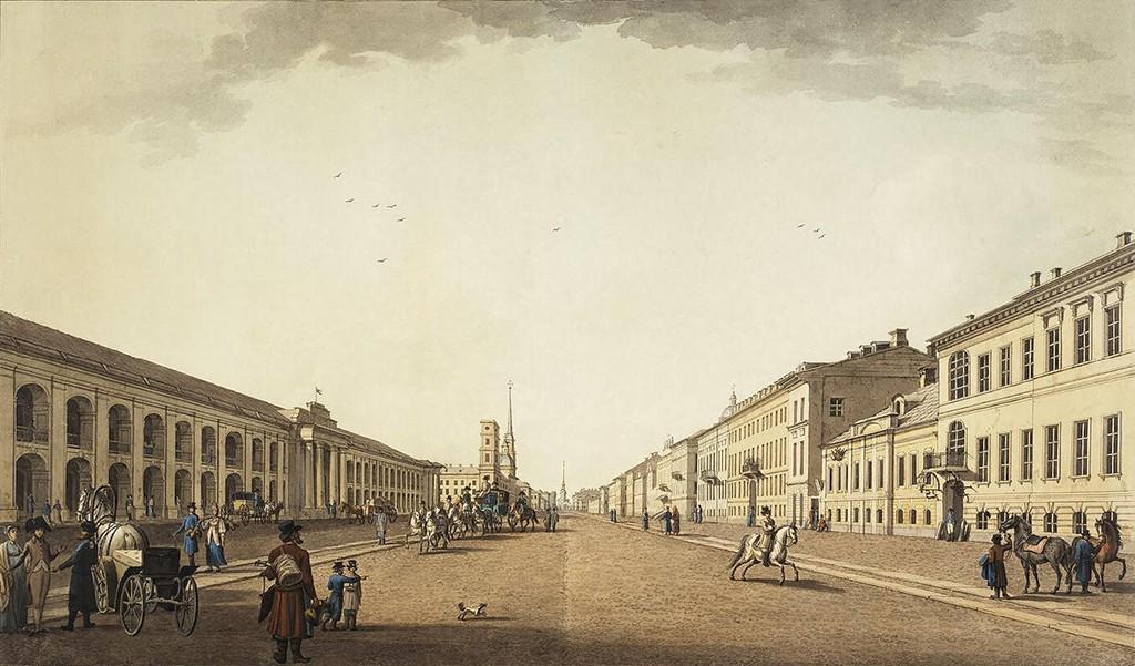 San Pietroburgo, Great Gostiny Dvor (1815)
