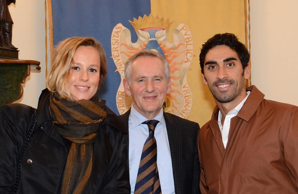 I giovani favolosi: Filippo Magnini e Federica Pellegrini incontrano gli studenti della Carlo Bo
