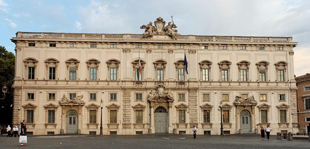 Roma - Palazzo della Consulta, sede della Corte Costituzionale