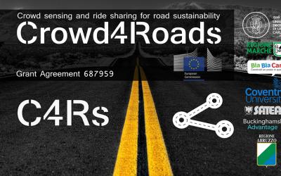 CROWD4ROADS: un progetto che piace all'Europa