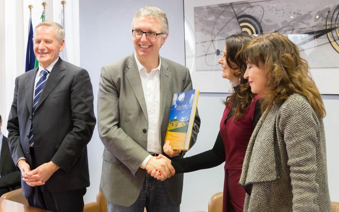 Il Presidente Luca Ceriscioli incontra i fisici della Carlo Bo