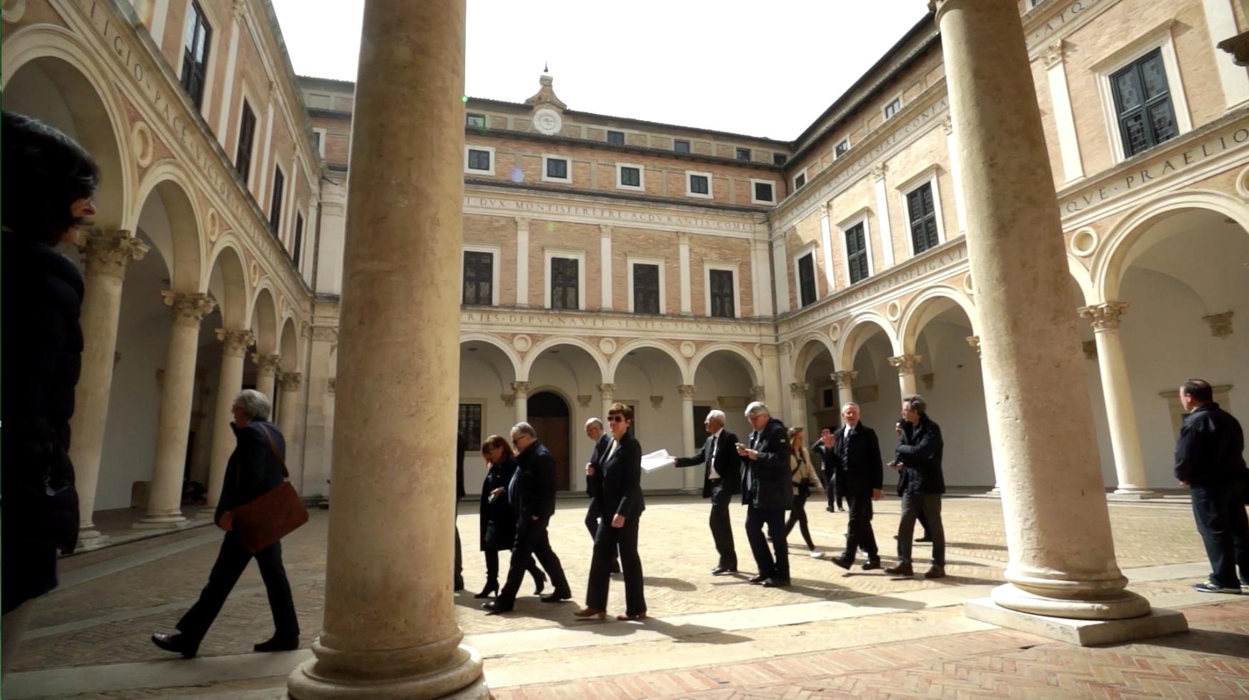 La Giunta CRUI a Urbino. Uniamo intervista il Presidente Manfredi
