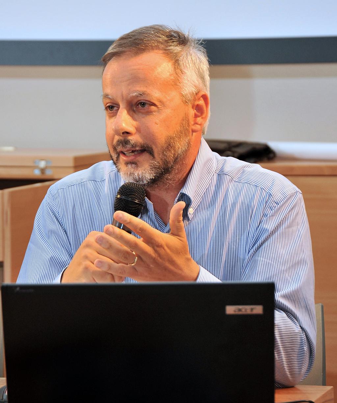 Il professor Gian Italo Bischi