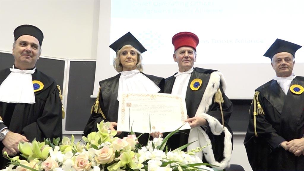 A Ornella Barra la laurea ad honorem in Chimica e Tecnologia Farmaceutiche