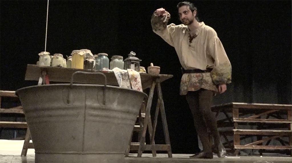 """""""Divinissimo"""": un inedito Raffaello Sanzio a teatro"""