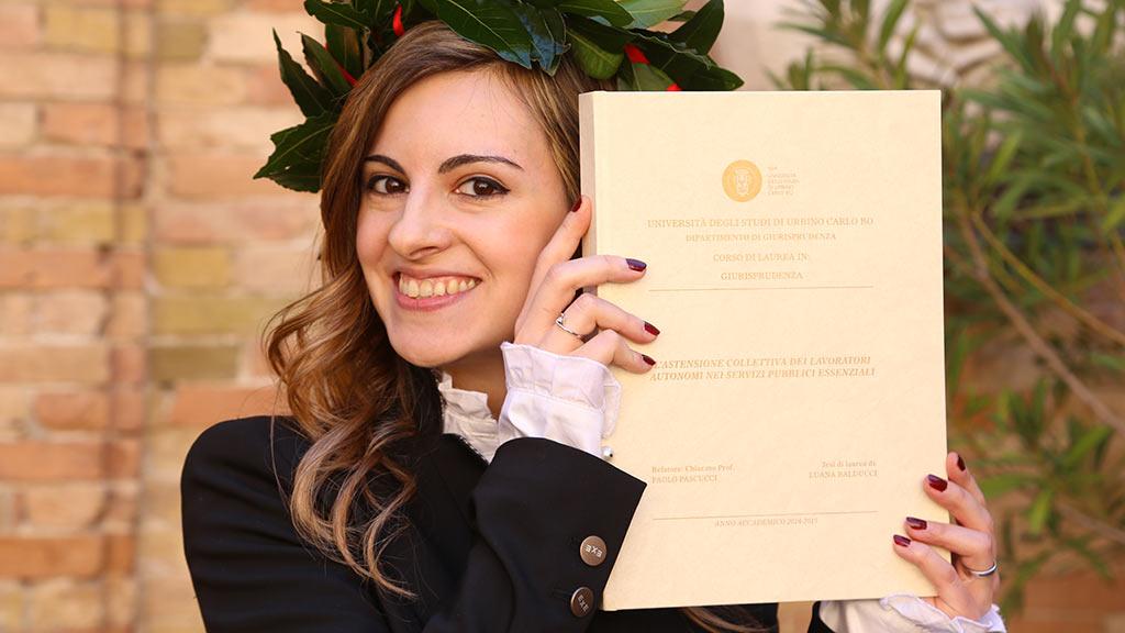 Il Premio Gino Giugni alla tesi di Luana Balducci