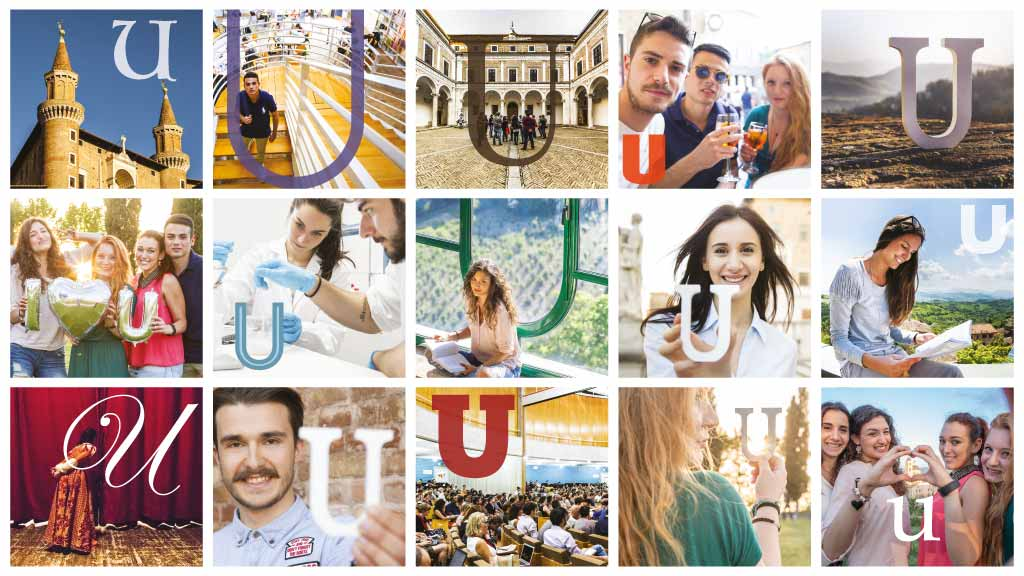 """All you need is U"", la nuova campagna di comunicazione di Uniurb"