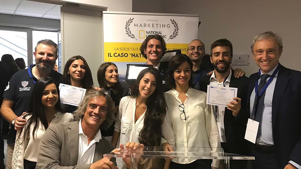 gli studenti di uniurb partecipano al premio marketing 2018 per il national geographic