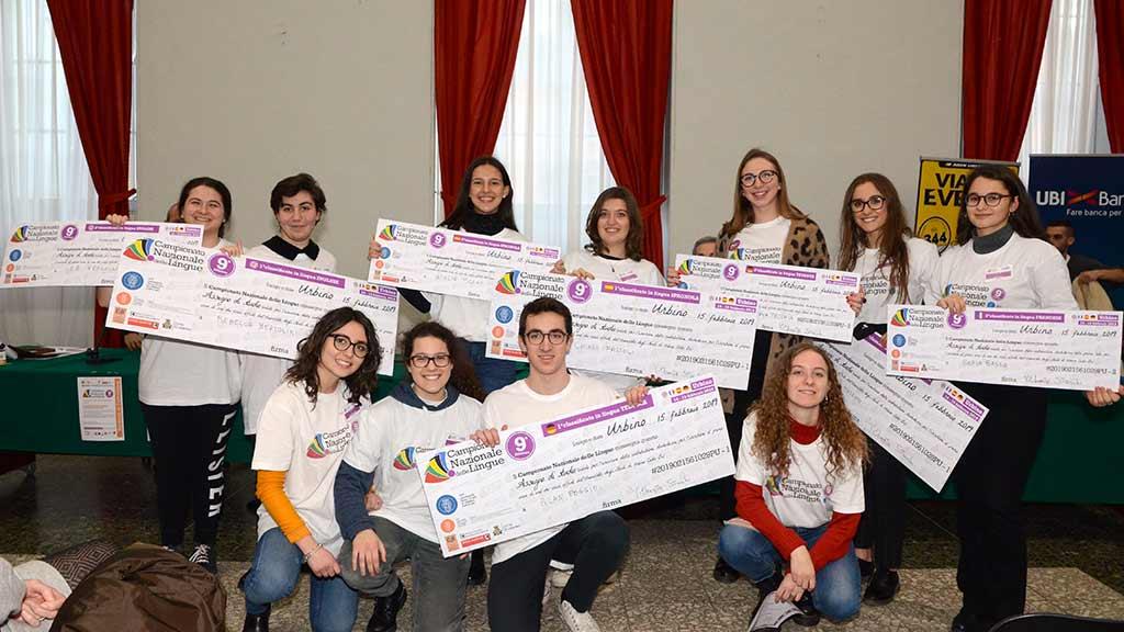 Campionato Nazionale delle Lingue 2019: a Urbino i migliori studenti delle scuole secondarie superiori