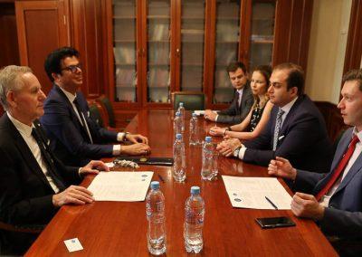 La Delegazione dell'Università di Urbino incontra la Delegazione della MGIMO University
