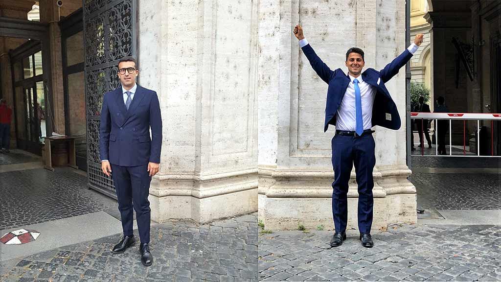 Francesco e Filippo: Uniurb ha due nuovi giovanissimi notai