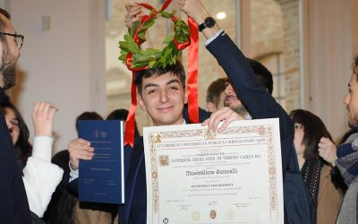 Double degree: il primo laureato di Uniurb in Economia e Management ed European Economic Studies