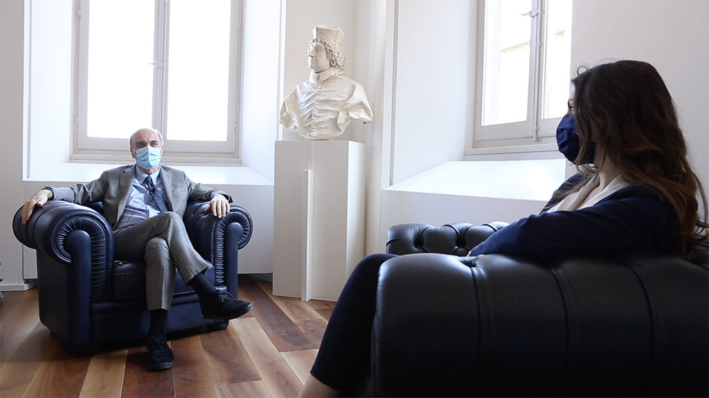 I giovani al centro della missione di Uniurb: il Rettore dialoga con Silvia Brugnera